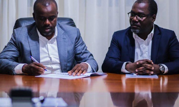 Convention entre le Ministère des TP et Tractafric Equipement Gabon