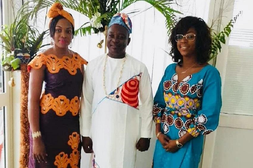 Les agents de UBA Gabon célèbrent l'Afrique