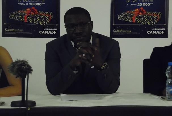 Mamadou Mbengue directeur général de Canal Gabon - Gabon : Canal+ s'engage à renforcer les capacités de 20 journalistes
