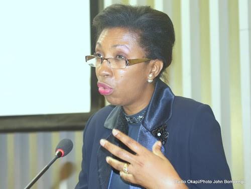 RDC : Jeannine Mabunda veut des sanctions contre les auteurs de l'interpellation de Lambert Mende