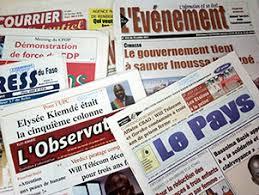 presse  - LIBERTE DE LA PRESSE. : Le Burkina montre la voie à suivre