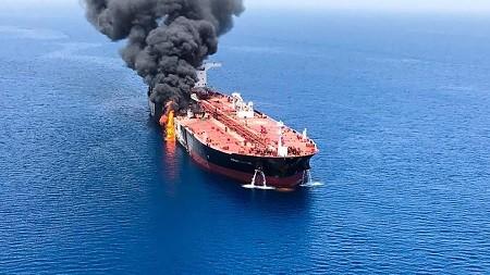 AFP 1HH3F2 20190613142730765 431 kIuD U462850728047vRE 992x558@LaVanguardia Web - Golfe Persique: Attaque de deux pétroliers transportant des cargaisons japonaises