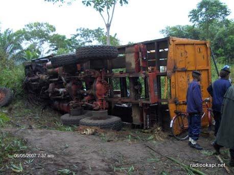 Lualaba : dix morts dans un accident de circulation à Kolwezi