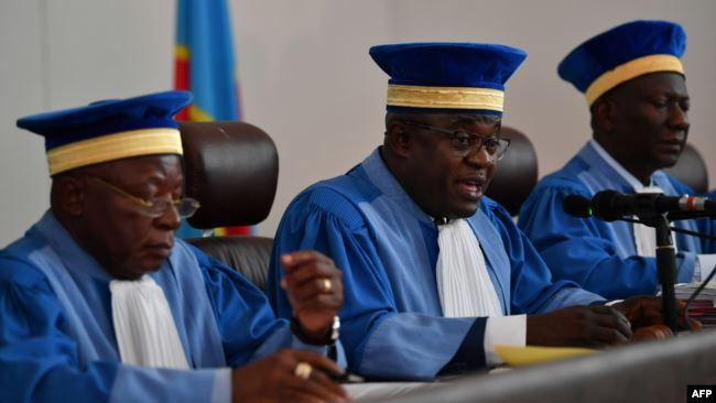 RDC: Washington et Londres déplorent les décisions de la Cour Constitutionnelle