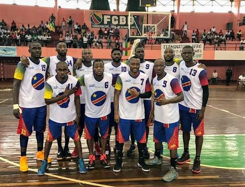 La sélection nationale de Basket-ball de la RDC. Juin 2017. Ph. Jo Lolango