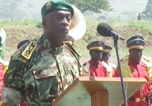 René Claude Meka, chef d'état-major des armées camerounaises