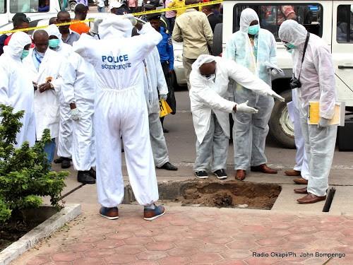 Kinshasa : découverte d'un corps sans vie près de Kintambo magasin