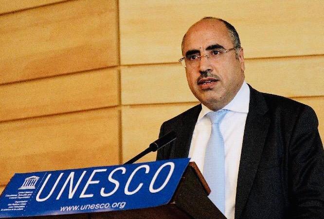 Prof Ibrahim Albalawi  - UNESCO : Défense des langues autochtones par le Prof. Ibrahim Albalawi