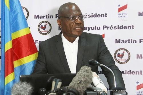 RDC : Martin Fayulu déplore la manière dont la manifestation de Lamuka a été dispersée