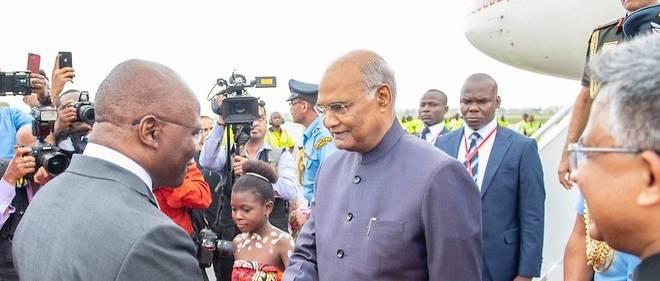 MINI TOURNEE OUEST-AFRICAINE DU PRESIDENT INDIEN