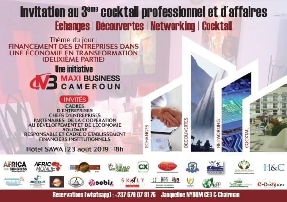 Le 2ème Dîner d'affaires de Maxi Business Cameroun s'est tenu (Photos)