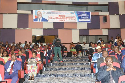1566491488 580 RDC des experts de l'education reflechissent sur la materialisation - Gratuité de l'enseignement en RDC : le salaire réajusté des enseignements sera payé dès octobre 2019