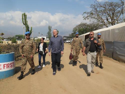 A Sange, François Grignon s'imprègne des défis liés à l'activisme des groupes armés opérant dans la région