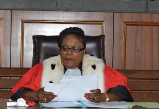 Cour d'Appel: Paulette Ayo Mba suspendue de ses fonctions