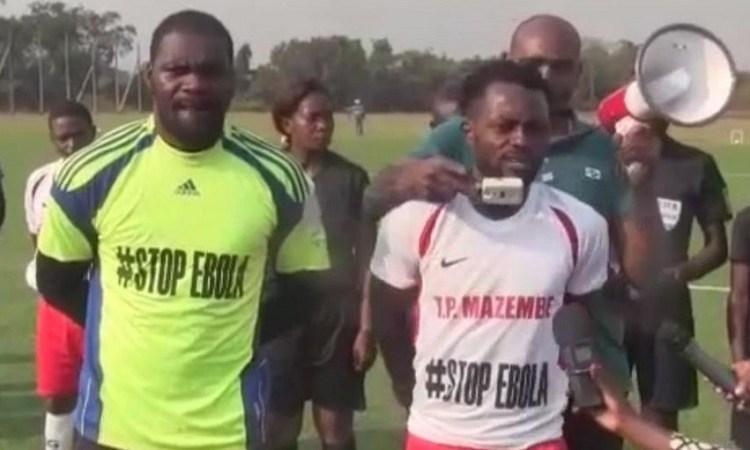Ebola en RDC : Des footballeurs s'engagent dans la prévention