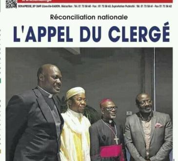 Réconciliation nationale : nouvelle trouvaille du Clergé?