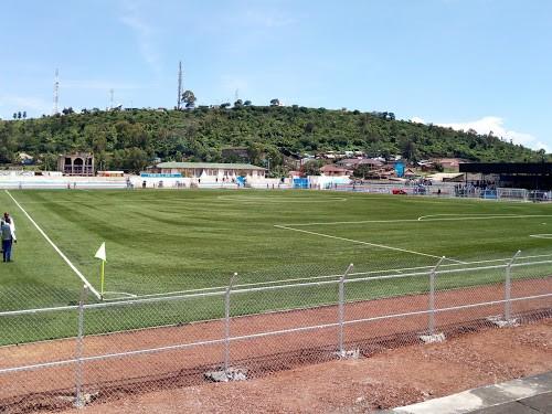 Vue du stade de l'unité de Goma. Radio Okapi/Ph. Marc Maro Fimbo
