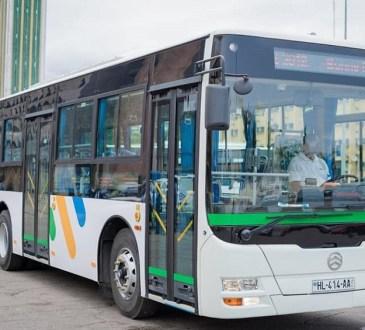 Gabon : Des bus ultramodernes pour Akanda