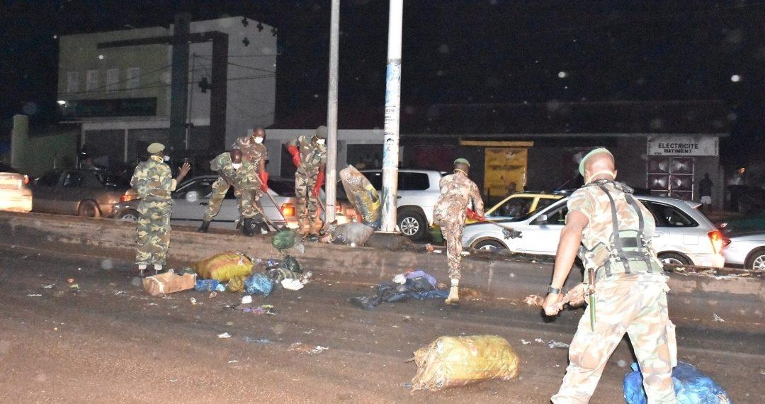 Insalubrité à Libreville : le Génie Militaire à la pelle !