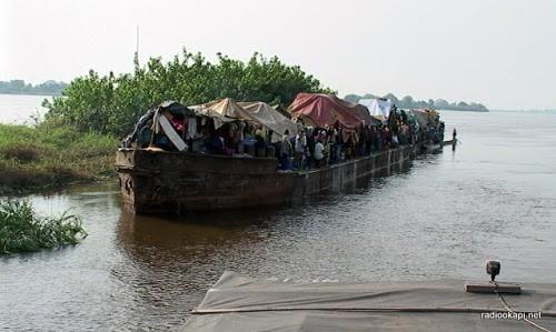 Kasaï : au moins 11 morts et 50 disparus après le naufrage d'une baleinière sur la rivière Lukenyi