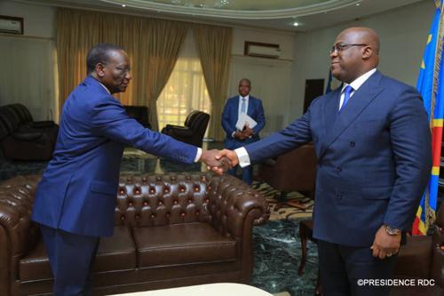 Le Phare : « Dans une lettre au Premier ministre : Bahati revendique 4 ministères pour l'AFDC-A »