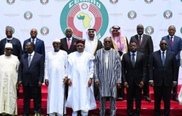 Les présidents des pays d'Afrique de l'Ouest lors du sommet de la Cédéao à Ouagadougou le 14 septembre 2019. — AFP