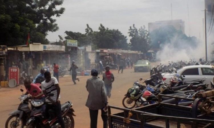 Burkina : Une marche des syndicats réprimée