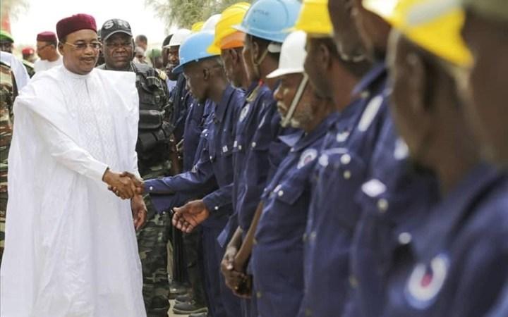 Le Niger et la Chine lancent la construction de 2000 km d'oléoduc via le Bénin