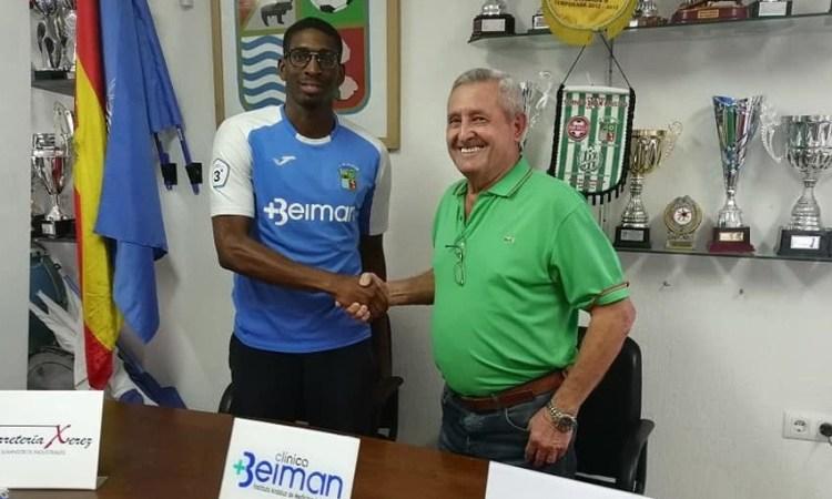 Football : Lyvann Kevine Svene Obissa rejoint le Deportivo Guadalcacín