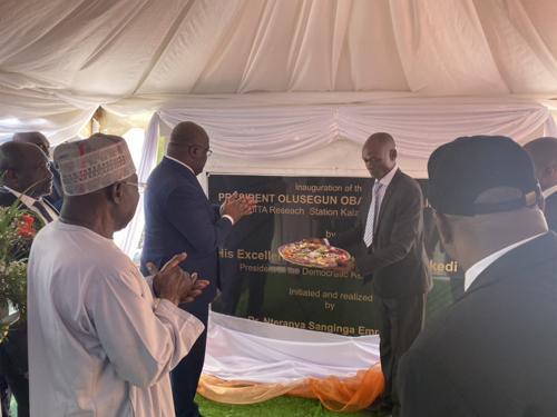 Pour Félix Tshisekedi, le laboratoire agricole de Kalambo vise à assurer la sécurité alimentaire