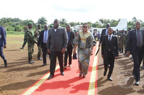 RDC : Félix Tshisekedi est arrivé à Beni