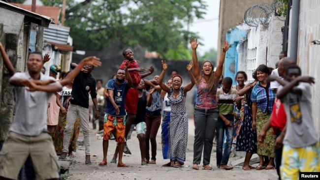 RDC: manifestation contre la corruption à Kinshasa