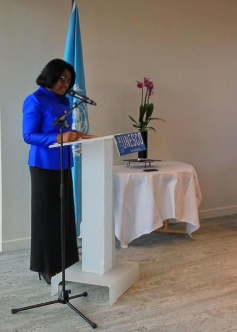 UNESCO : RÉCEPTION CONJOINTE DE LA DÉLÉGATION SAOUDIENNE ET DU GROUPE AFRIQUE
