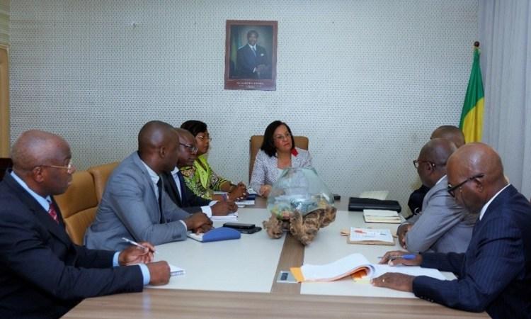Gabon : Madeleine Berre plaide pour l'ONE auprès de la BAD