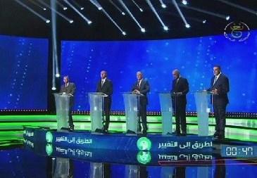 Présidentielle en Algérie : débat télévisé entre candidats