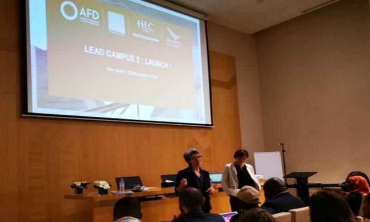 HEC Paris et l'AFD inaugurent le programme Lead Campus pour former 30 leaders (...)