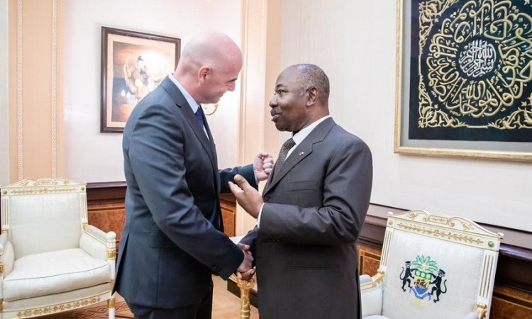 Ali Bongo Ondimba-Gianni Infantino : On parle foot
