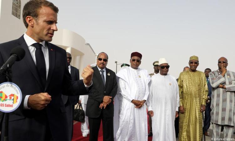 Afrique de l'Ouest: M. Macron veut un soutien des chefs d'Etat du Sahel