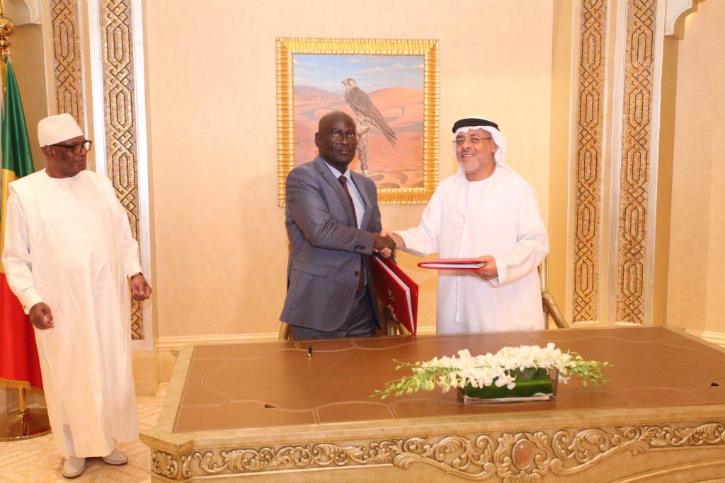 Le Mali signe avec les Emirats arabes unisune convention de plus de 14 milliards pour les PME et l'autonomisation des femmes