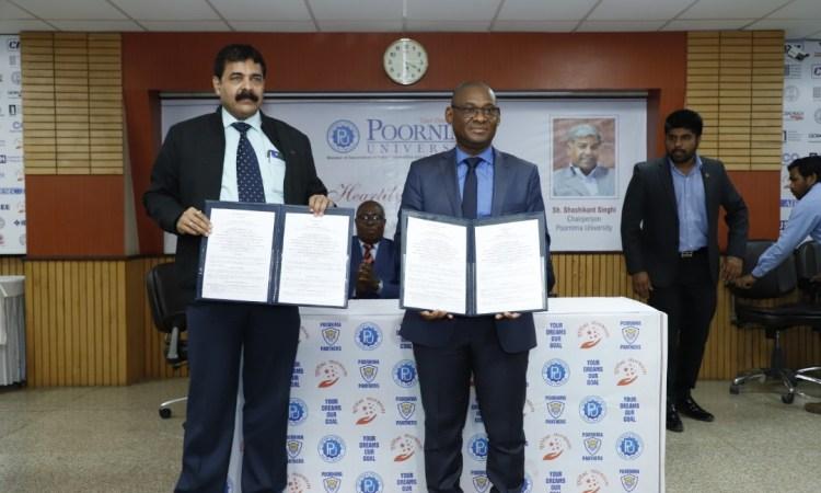 Coopération Universitaire:le Gabon signe deux accords d'études avec l'Inde.