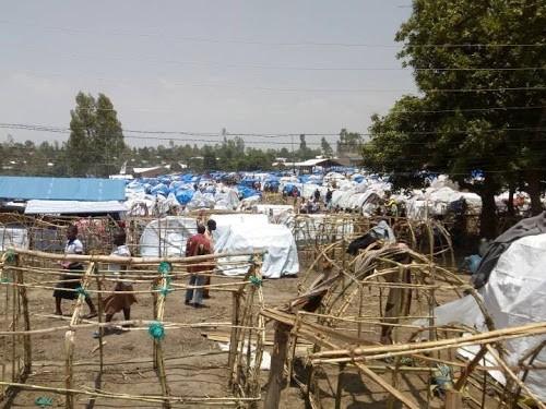 RDC : 20 000 déplacés de Djugu se disent exposés au Coronavirus à Bunia