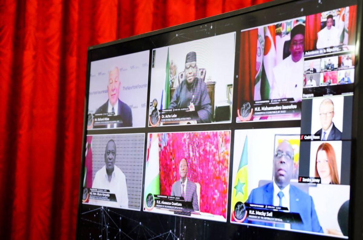 NYF Institute   1ère table ronde virtuelle sur la résilience africaine et l'après crise Covid-19
