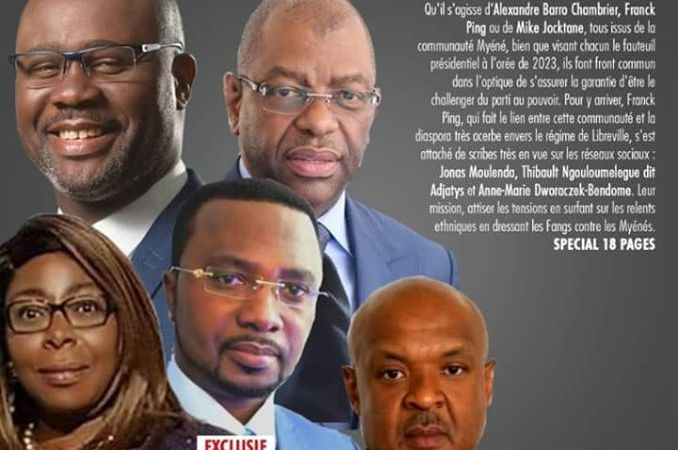 25 mai 2020  - Chronique du Gabon : Le poison du tribalisme ou qui tente de jouer avec le feu ?