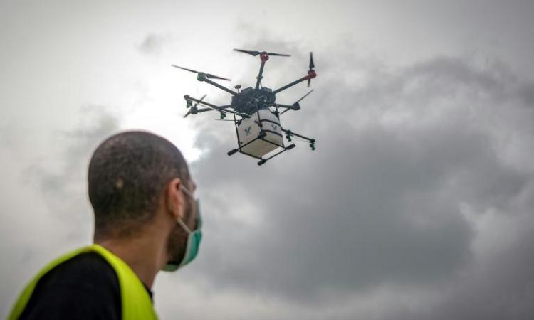 Les drones essaiment auMarocavec la pandémie de Covid-19