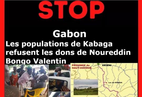Gabon : Les populations de Kabaga refusent les dons de Noureddin Bongo Valentin