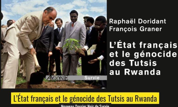 En libraire: comment la France a aidé les génocidaires rwandais