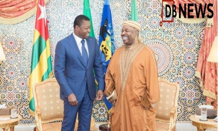 0000000000000000Libreville Date indeterminée Ali Bongo Ondimba President du Gabon Faure Essozimna Gnassingbe du Togo  - Visite de Faure Gnassingbé chez Ali Bongo : la Manipulation de GABON 24