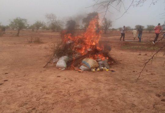 Diéma: Destruction de produits impropres à la consommation