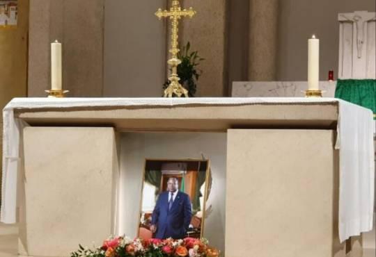 France : Messe de requiem en mémoire de Franck Emmanuel Issoze Ngondet à Paris