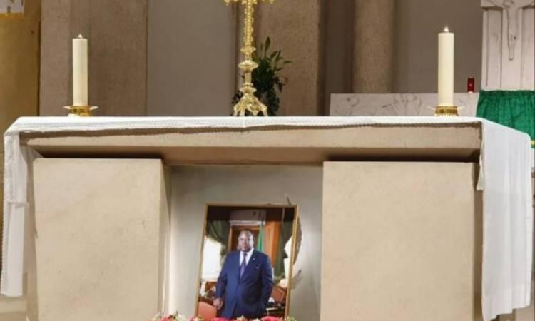Franck Emmanuel Issoze Ngondet Ancien Premier ministre du Gabon 00 - France : Messe de requiem en mémoire de Franck Emmanuel Issoze Ngondet à Paris